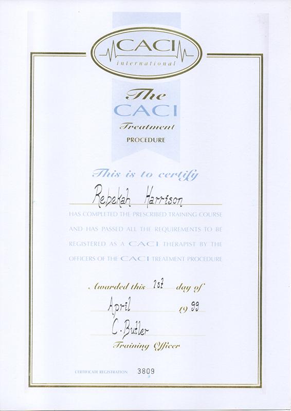 CACI Certificate